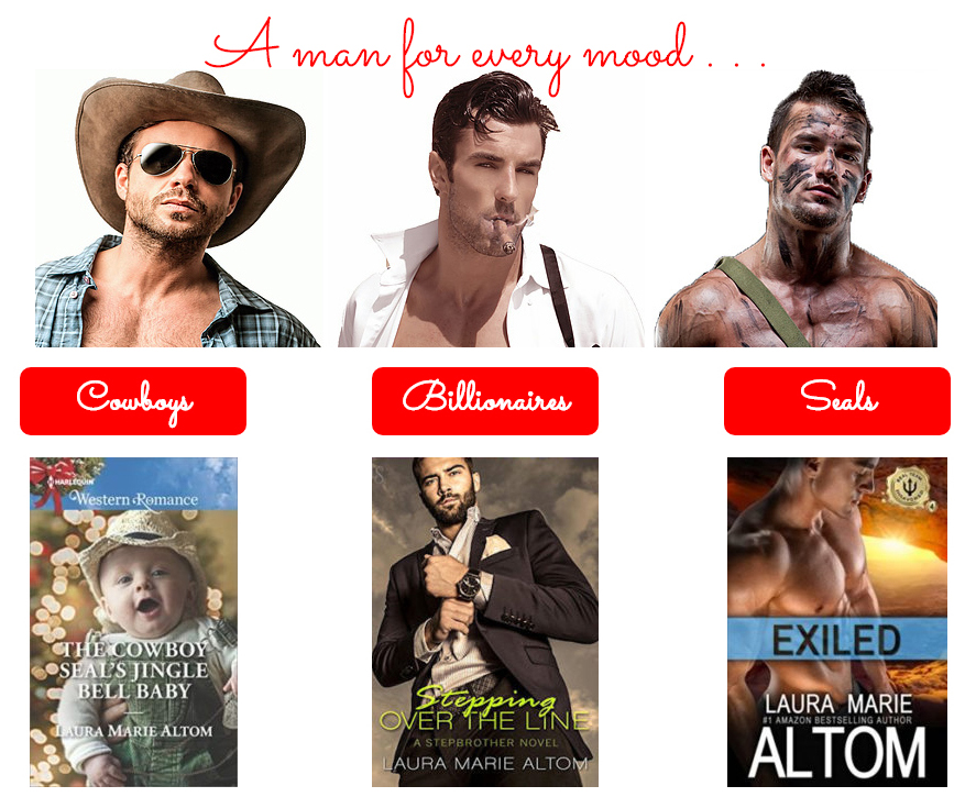 authors love readers laura marie altom