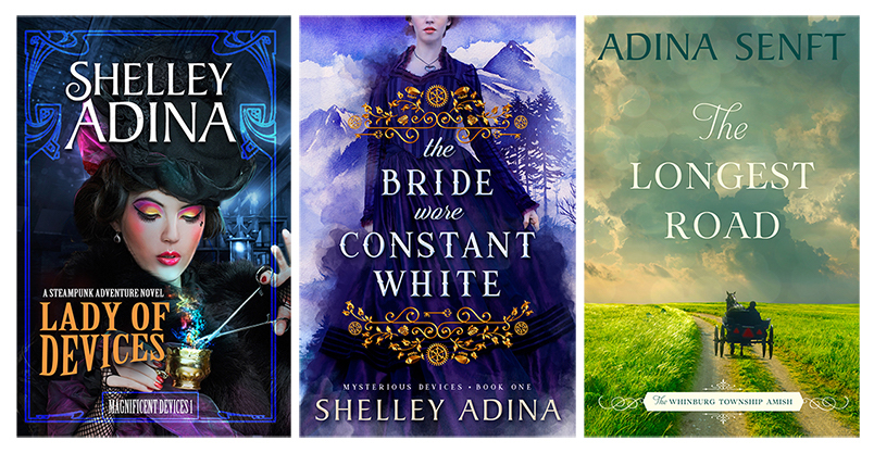 authors love readers shelley adina